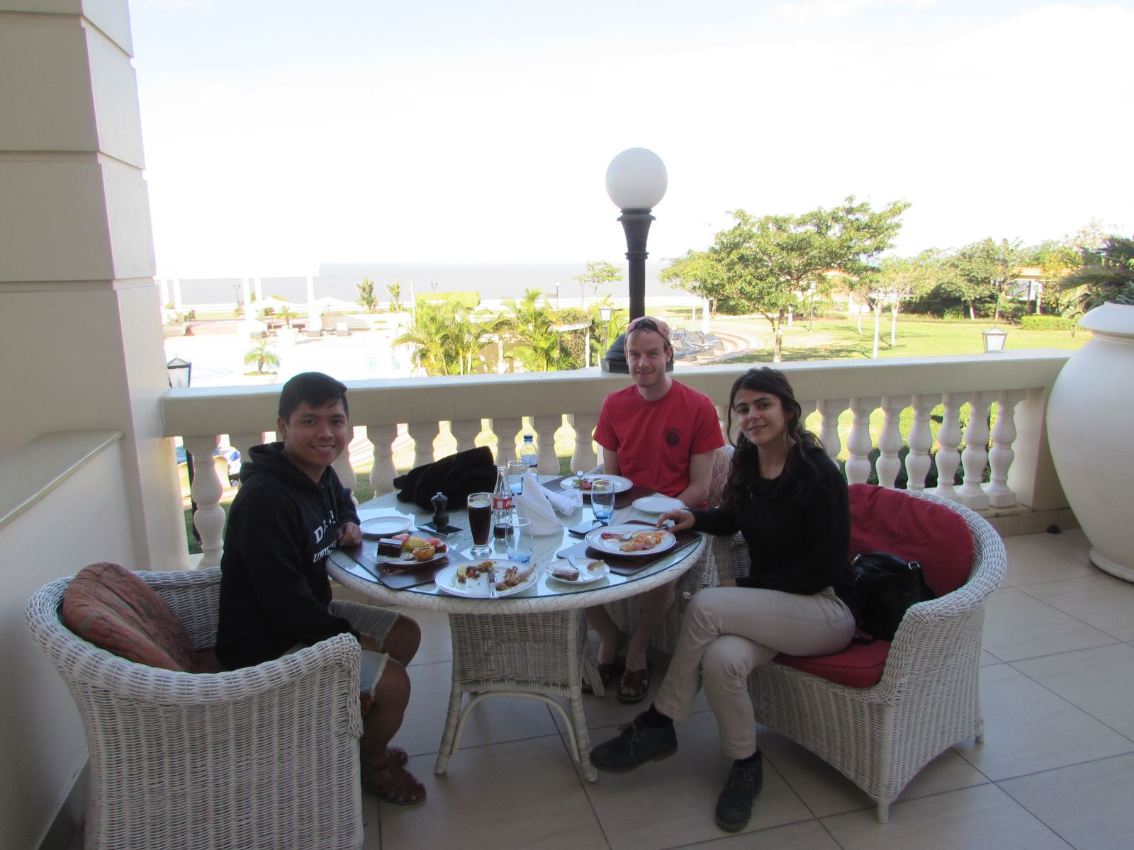 11. lunch at Polana Serena